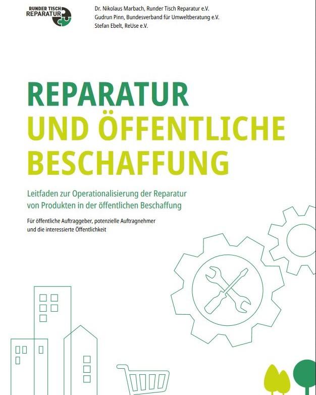 Leitfaden: Reparatur und öffentliche Beschaffung